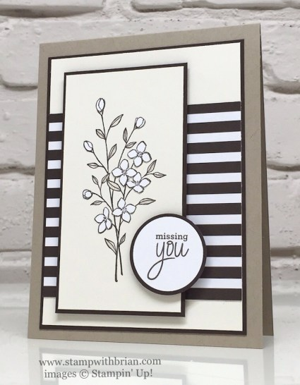 Touches of Texture, Places You'll Go, Stampin' Up!, Brian King, GDP044
