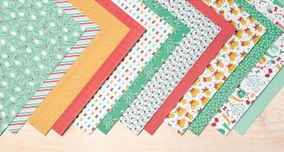 Presents & Pinecones Designer Series Paper, Stampin' Up!