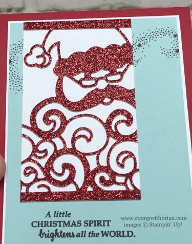 Detailed Santa Thinlits Dies, Stampin' Up!, Brian King