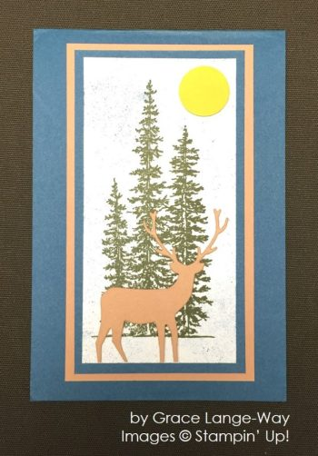 by Grace Lange-Way, Stampin' Up!, Christmas cards