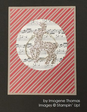 by Imogene Thomas, Stampin' Up!, Christmas cards