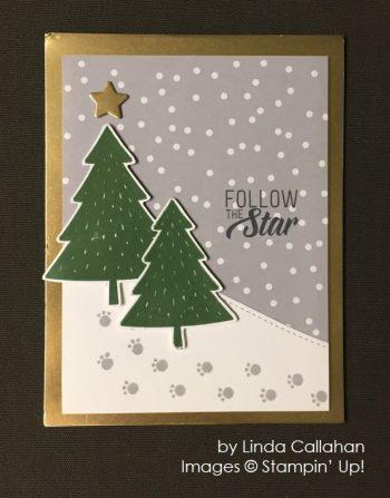 by Linda Callahan, Stampin' Up!, Christmas cards