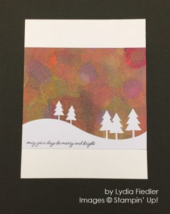 by Lydia Fiedler, Stampin' Up!, Christmas cards