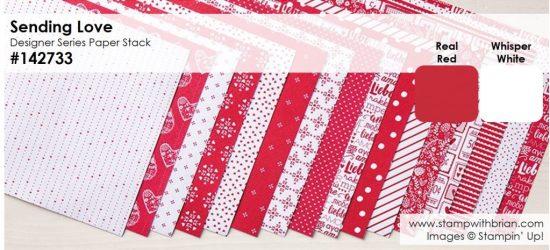 Sending Love Designer Series Paper Stack, Stampin' Up!, Brian King