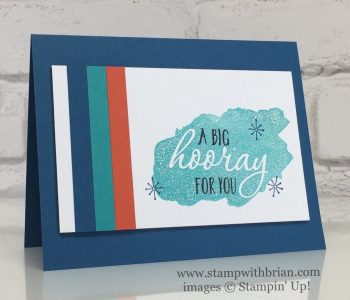 Reverse Words, Super Duper, Perfectly Wrapped, Stampin' Up!, Brian King