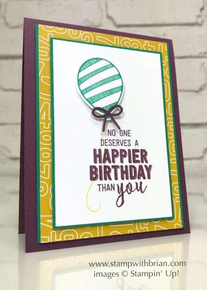 Balloon Adventures, Balloon Pop-Up Thinlits Dies, Stampin' Up!, Brian King, birthday card