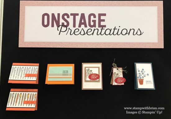 Crafting Forever Display Board, Stampin' Up!, Brian King