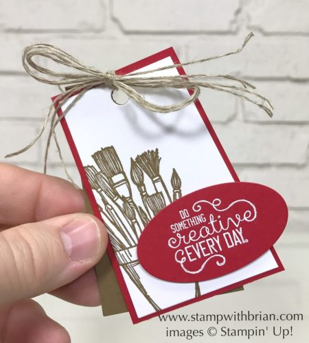 Crafting Forever, Stampin' Up!, Popcorn Box Thinlits Dies, Brian King