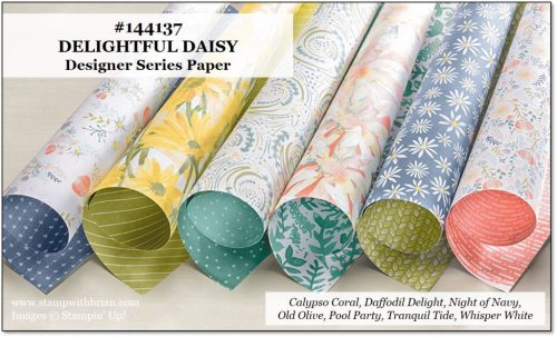 Delightful Daisy Designer Series Paper, Stampin' Up!