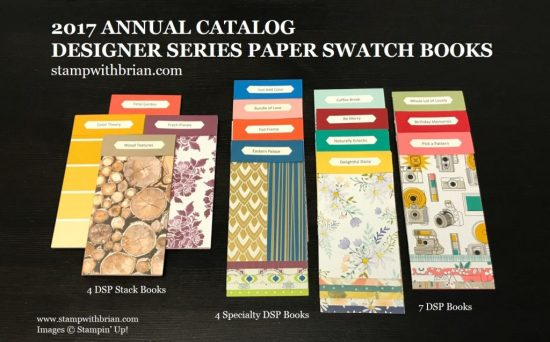 Designer Series Paper Swatch Books, stampwithbrian.com