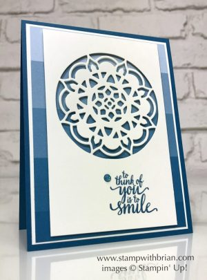Eastern Beauty, Eastern Medallions Thinlits Dies, Color Therapy Designer Series Paper Stack, Stampin' Up!, Brian King