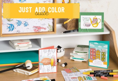 Just Add Color Suite, Stampin' Up!