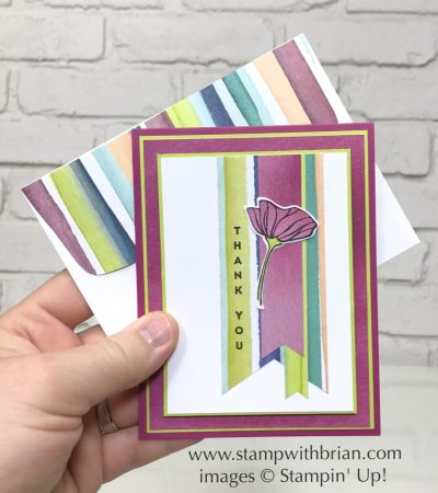 Vertical Greetings, Oh So Eclectic, Stampin' Up!, Brian King, GDP098
