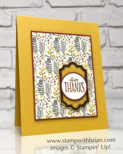 Labels to Love, Everyday Label Punch, Painted Autumn Designer Series Paper, Stampin' Up!