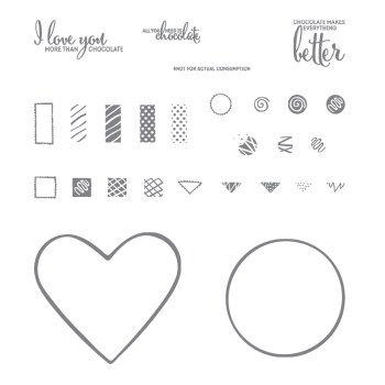 More Than Chocolate, Stampin' Up! 143689