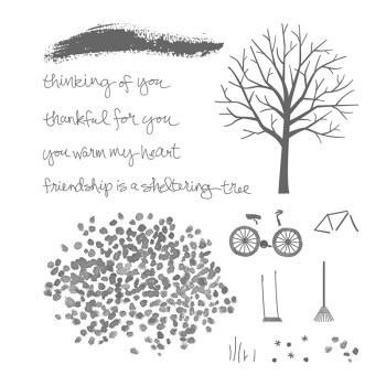 Sheltering Tree, Stampin' Up!, 137163