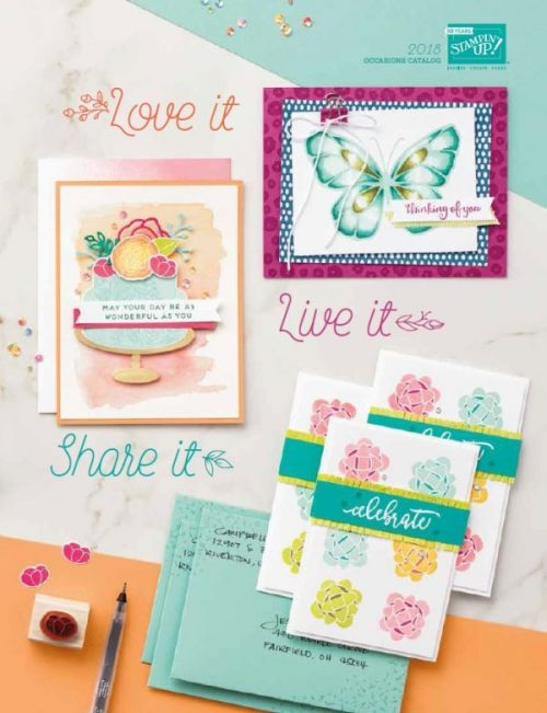 Stampin' Up!'s 2018 Occasions Catalog