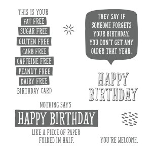 Birthday Wit, Stampin' Up! 145753