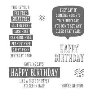 Birthday Wit, Stampin' Up! 145753