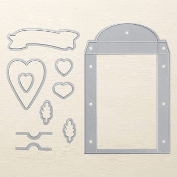Lots to Love Box Framelits Dies, Stampin' Up! 145653