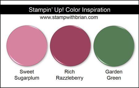 Stampin' Up! Color Inspiration: Sweet Sugarplum, Rich Razzleberry, Garden Green