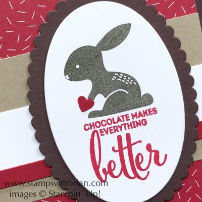 Hello Easter, More Than Chocolate, Stampin' Up!, Brian King, Easter card
