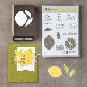 Lemon Zest Bundle, Stampin' Up! 145360