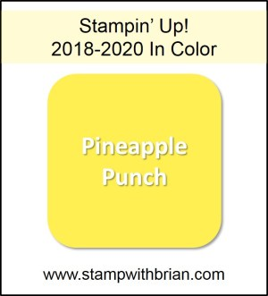 Pineapple Punch, Stampin' Up! 2018-2020 In Color