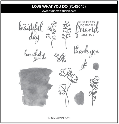 Love What You Do, Stampin' Up! 148042
