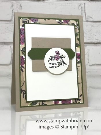 Make a Difference, Stampin' Up!, Brian King, CTS270, Share What You Love Specialty Designer Series Paper, CTS270