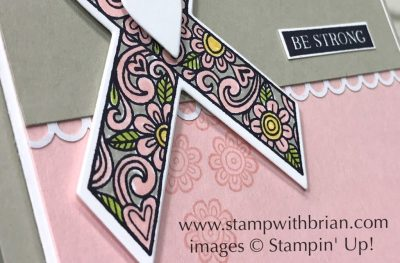 Ribbon of Courage, Rooted in Nature, Stampin' Up!, Brian King, GDP138