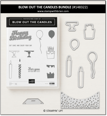 Blow Out the Candles Bundle, Stampin' Up!, 148322