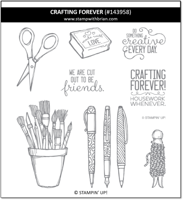 Crafting Forever, Stampin' Up! 143958