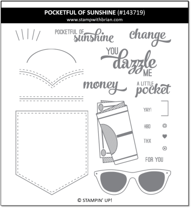 Pocketful of Sunshine, Stampin' Up! 143719