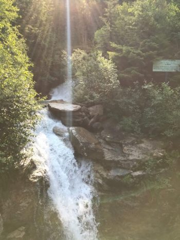 Skagway - waterfall, Brian King
