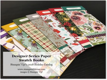 2018 Holiday Catalog Swatch Books, Stampin' Up!, Brian King, stampwithbrian
