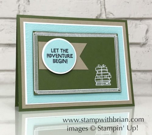 Treehouse Adventure, Bike Ride, Swirly Frames, Stampin' Up!, Brian King, back to school card