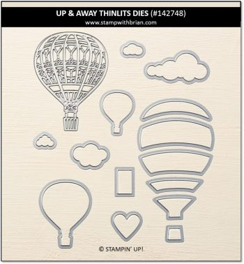 Up & Away Thinlits Dies, Stampin' Up! 142748