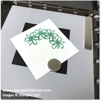 6 - Creating a Wreath with the Stamparatus, Stampin' Up!, Brian King