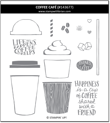 Coffee Cafe, Stampin' Up!, 143677