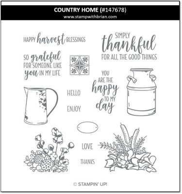 Country Home, Stampin' Up! 147678