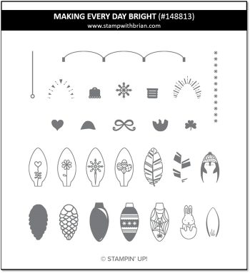 Making Every Day Bright, Stampin' Up! 148813