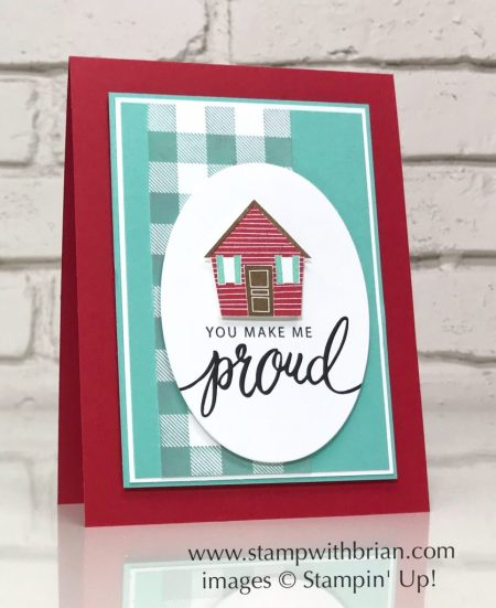 Treehouse Adventure, Friendly Expressions, Buffalo Check, Stampin' Up!, Brian King