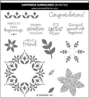 Happiness Surrounds, Stampin' Up!, 149744