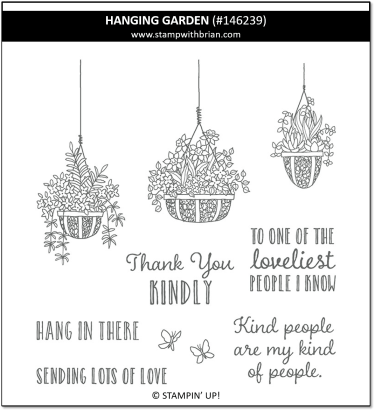 Hanging Garden, Stampin' Up! 146239