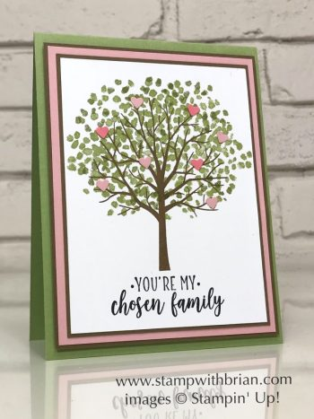 Sheltering Tree, Part of My Story, Stampin' Up!, Brian King