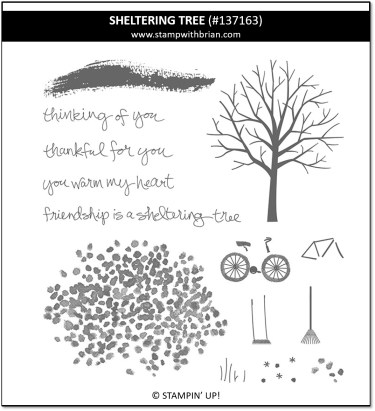 Sheltering Tree, Stampin' Up! 137163