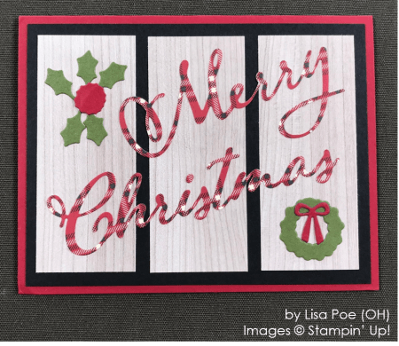by Lisa Poe, Stampin' Up! One-by-One Holiday Card Swap