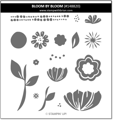 Bloom by Bloom, Stampin' Up! 148820