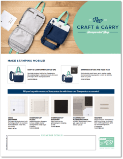Craft & Carry Bag Flyer